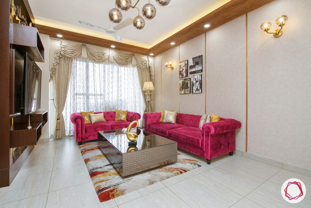 beautiful home design living room velvet sofas