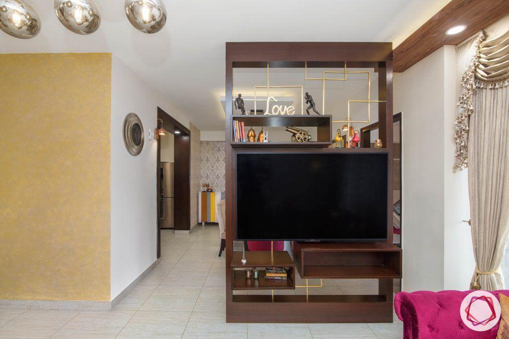 beautiful home design living room TV unit
