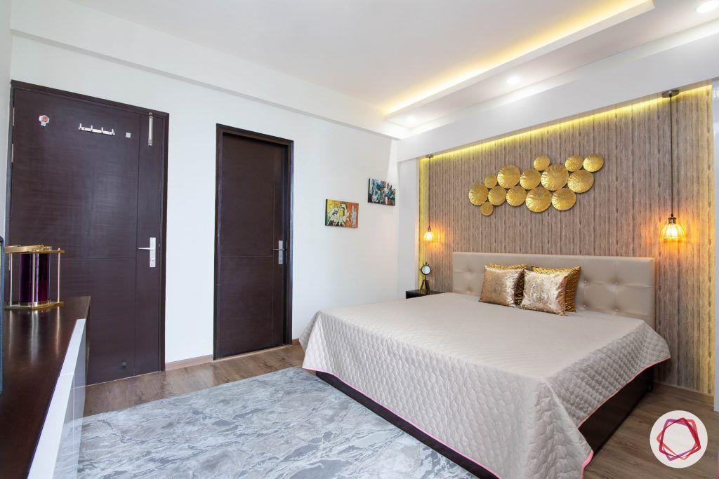 beautiful home design bedroom wooden wallpaper