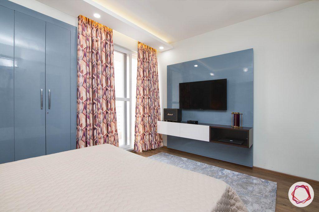 beautiful home design bedroom wooden wallpaper accent