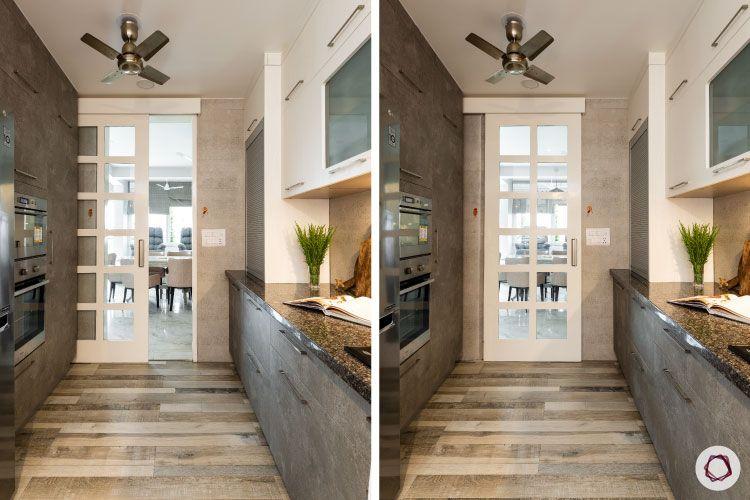 new kitchen designs door