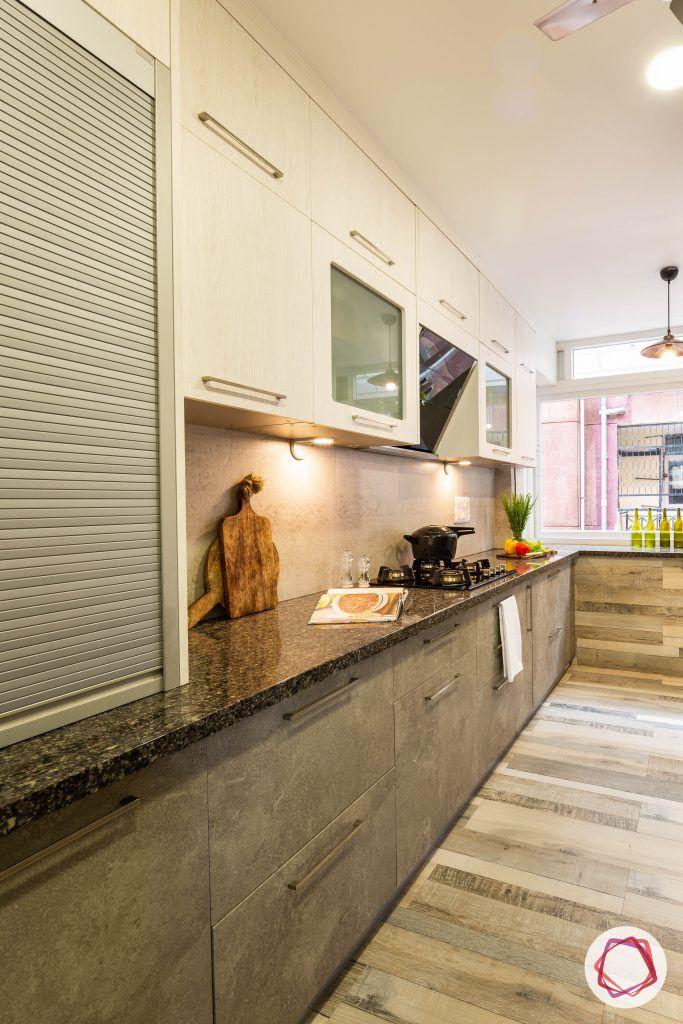 new kitchen designs roller shutter