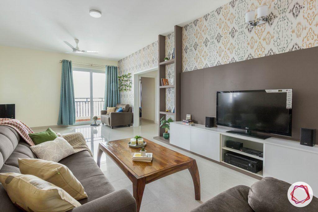 New home design_living room full view