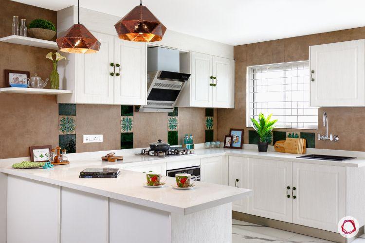 White kitchen designs_ethnic accents 1