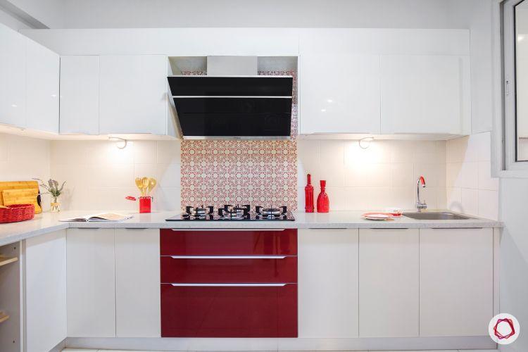 White kitchen designs_pop colour 1