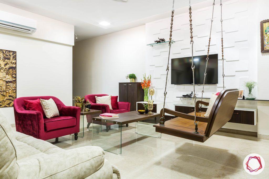 Oberoi esquire_living room tv unit