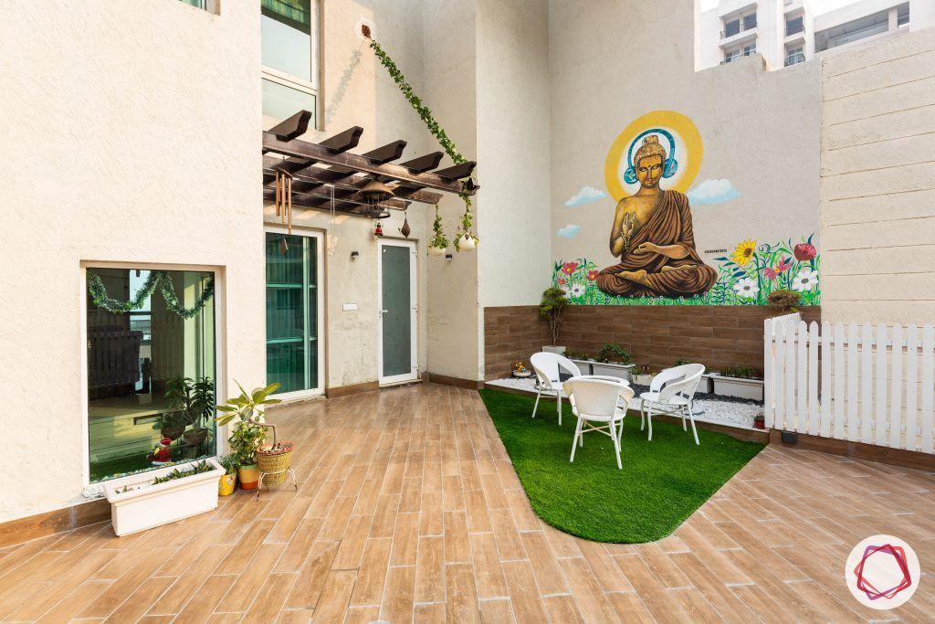 duplex house design terrace