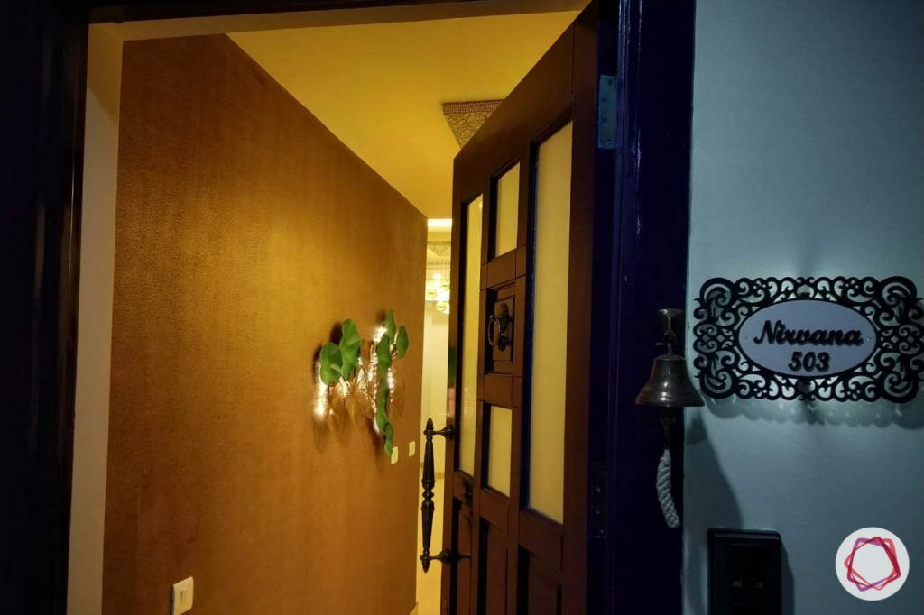 duplex house design main door