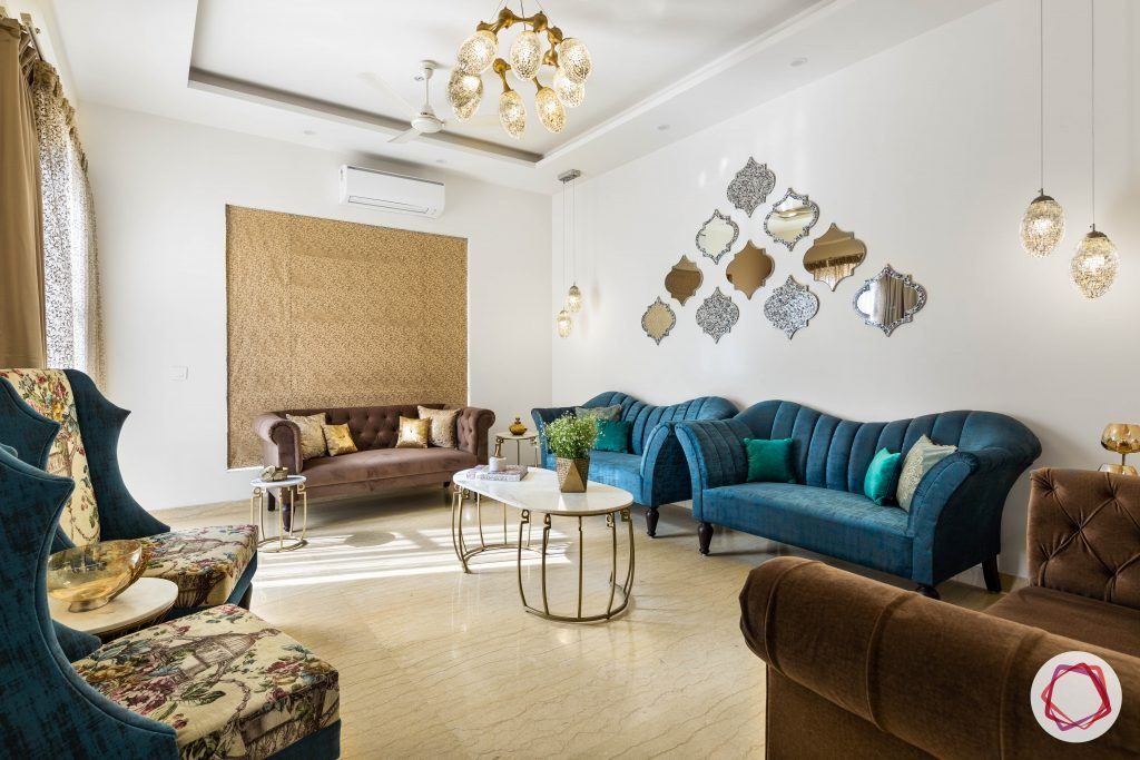duplex house design living room