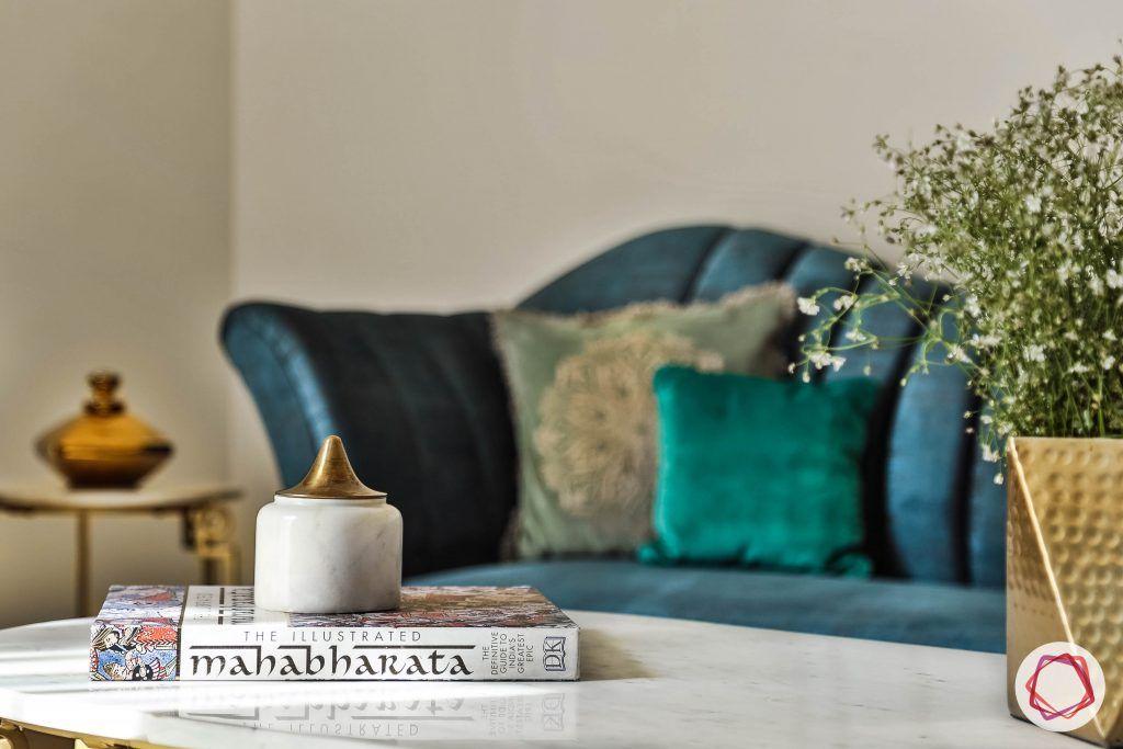 duplex house design sofa table