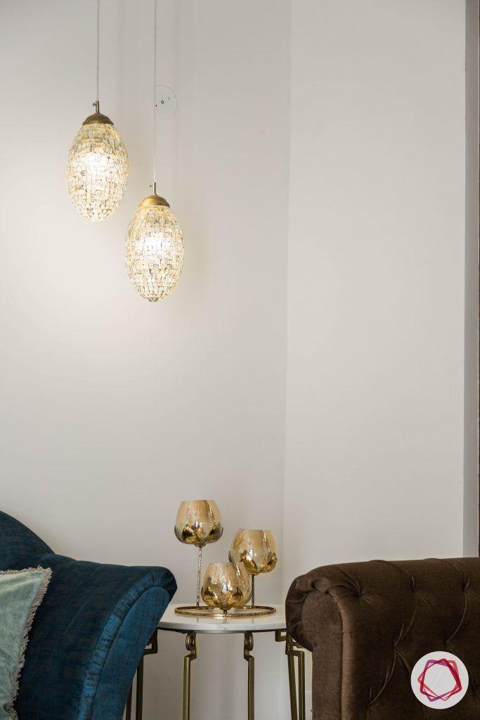duplex house design living lights
