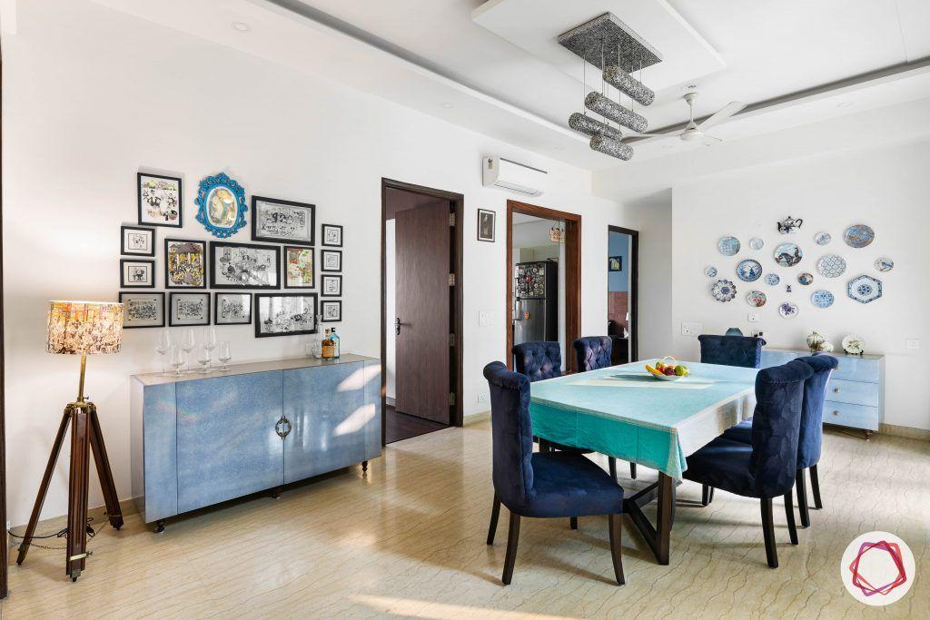 duplex house design dining room