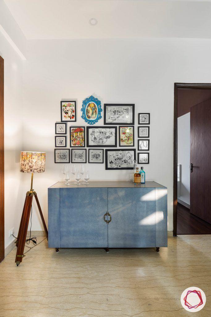 duplex house design buffet table