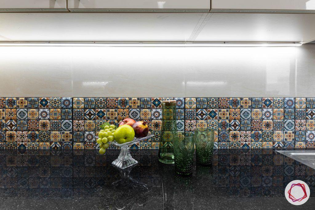 duplex house design kitchen counter top