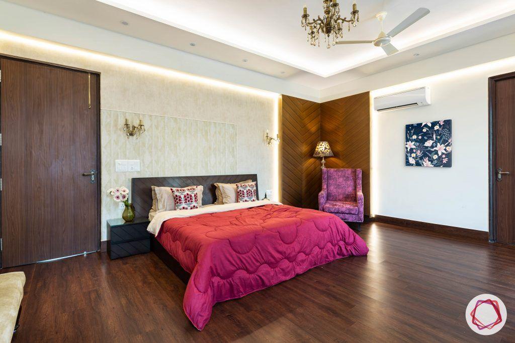 duplex house design master bedroom