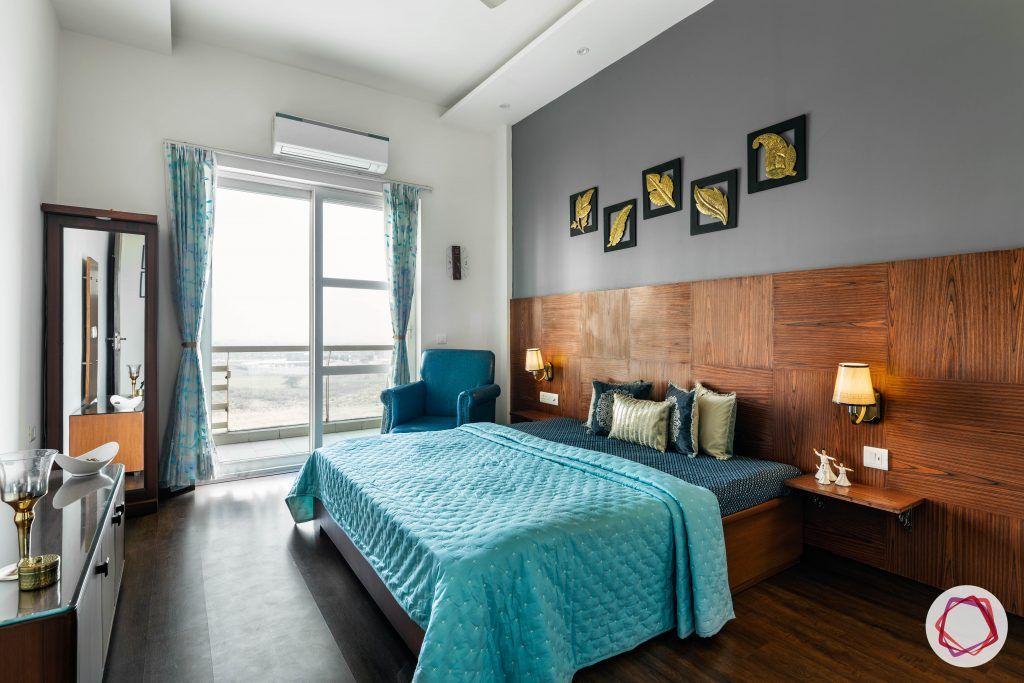 duplex house design bedroom wooden