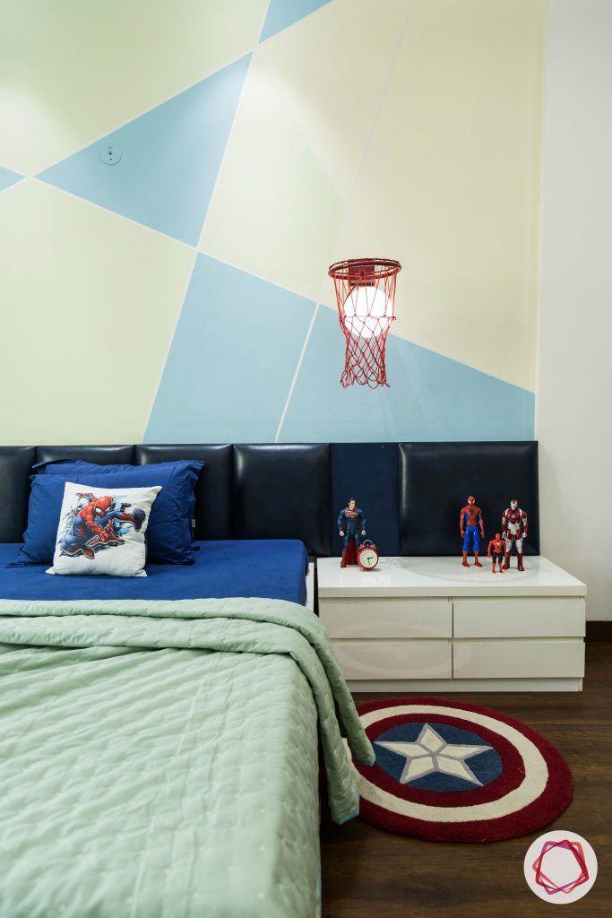 duplex house design kids bed table