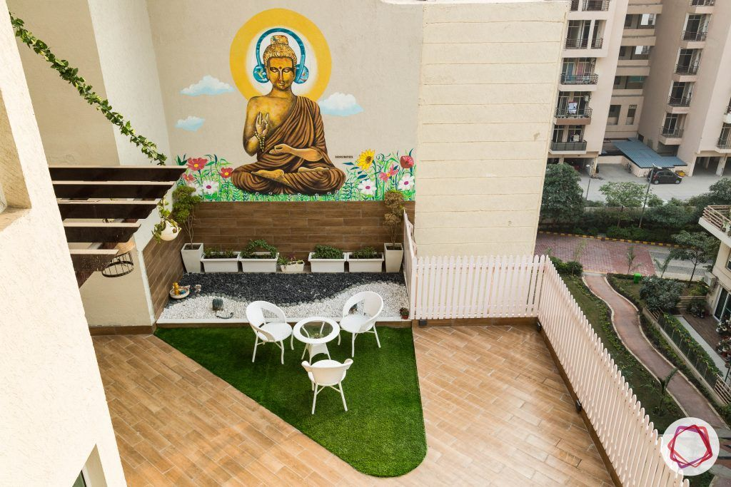duplex house design buddha