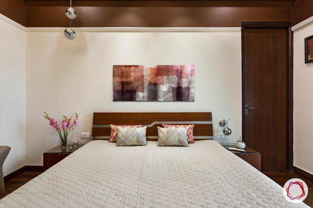 duplex house minimal bedroom