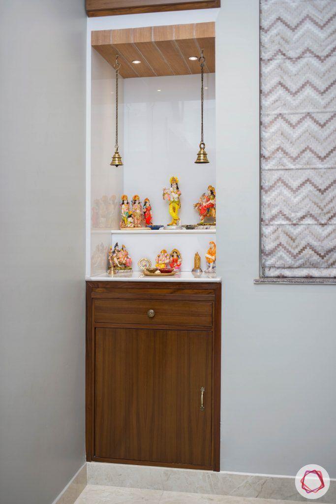 Pooja-Room-Design-Wooden-Niche-with-Cupboard