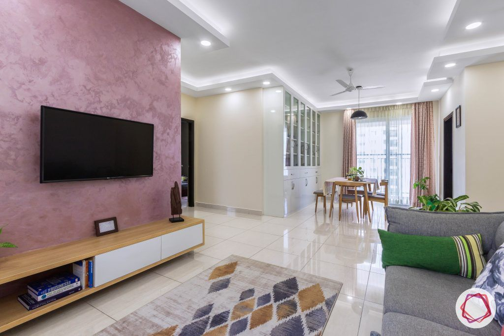 prestige ferns residency living and dining