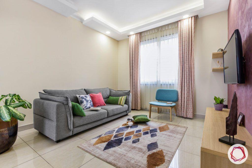 prestige ferns residency living room sofa