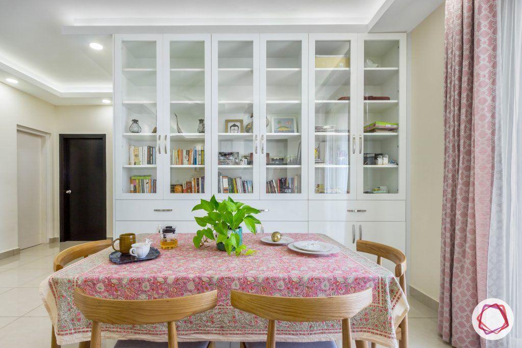 prestige ferns residency bookshelf