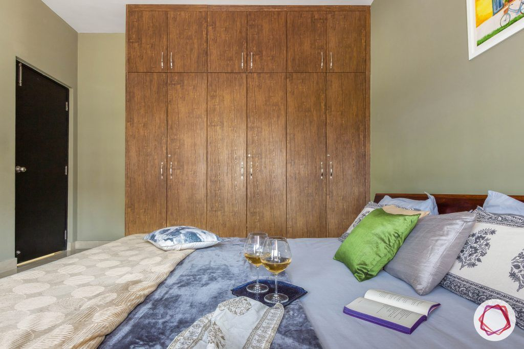 prestige ferns residency bedroom wardrobe
