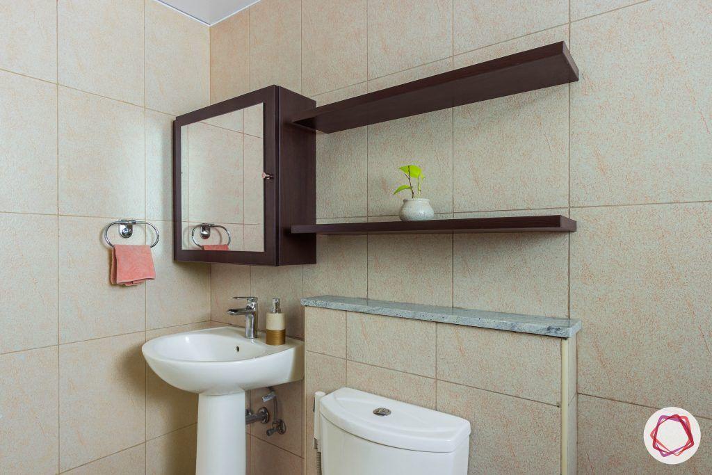 prestige ferns residency vanity mirror bathroom