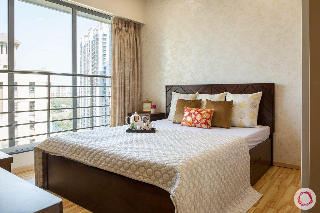 2BHK interior_master bedroom