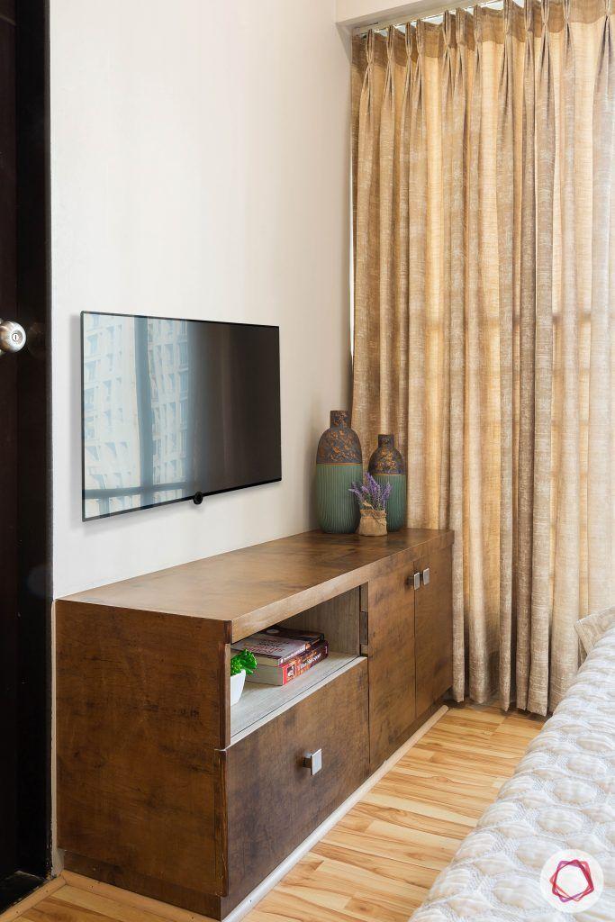 2BHK interior_tv cabinet