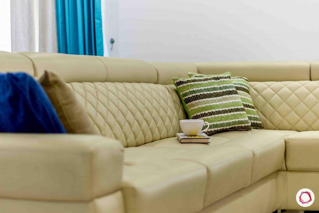 sobha forest view-living room-beige sofa-cushions
