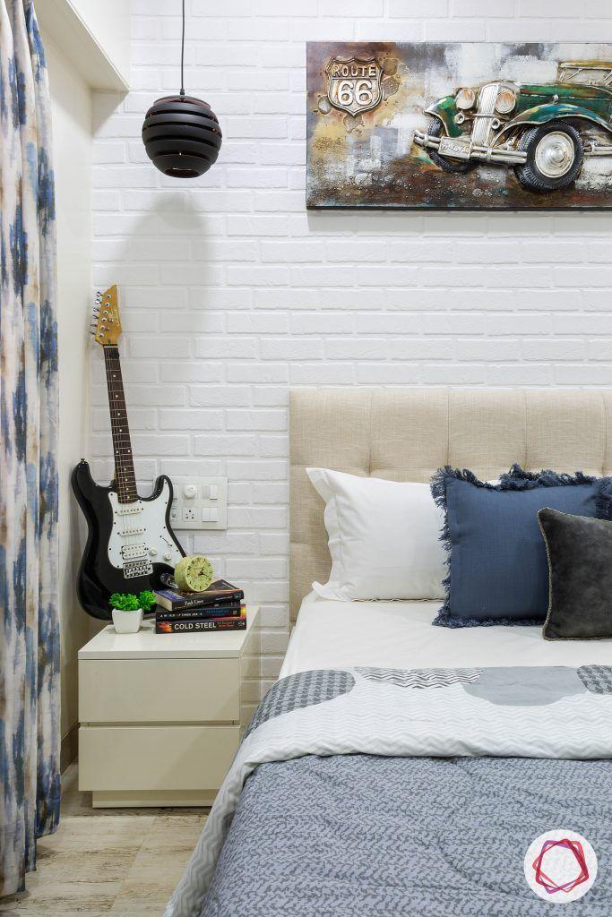 house-renovation-second-bedroom-vertical-side-table-wooden-flooring-hanging-light