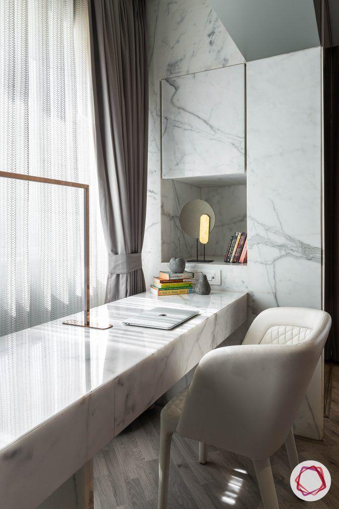 4bhk house plan-master bedroom designs-bedroom seating ideas-bedroom seating furniture-marble table-leather chair designs-study chair designs-marble shelf designs