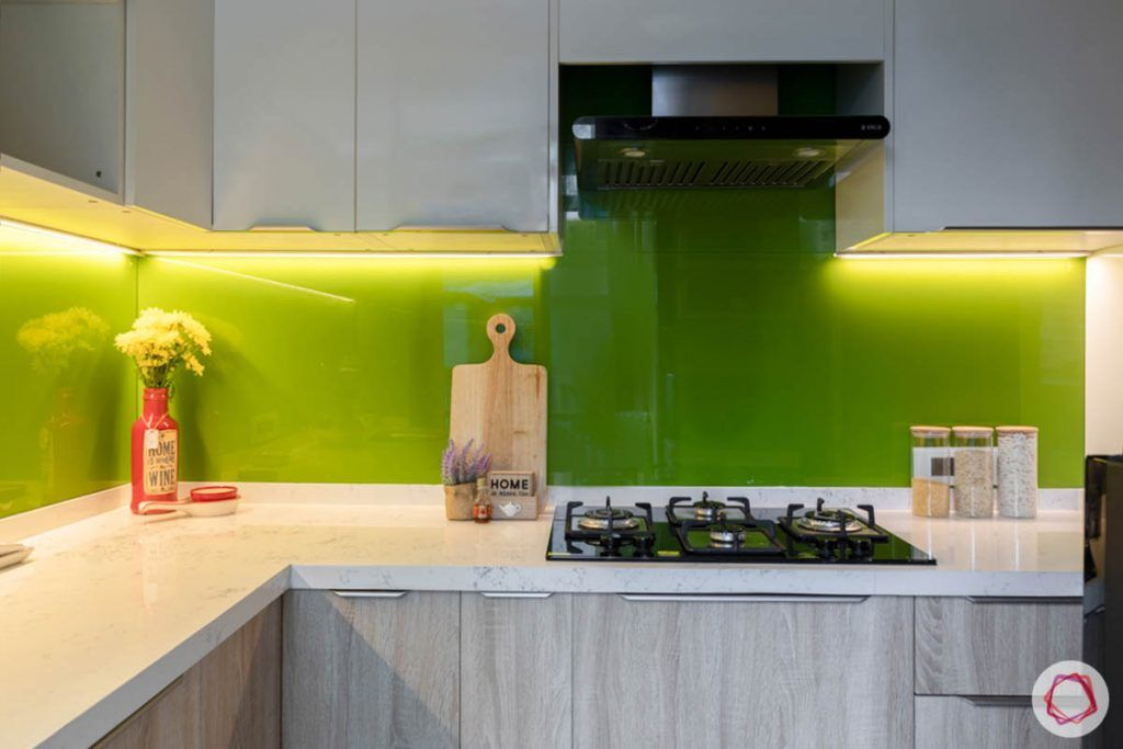 wall-tiles-design-back-painted-glass-lime-green-white-counter-cabinets