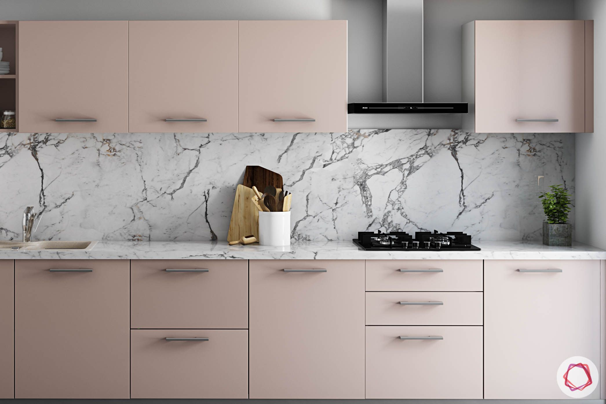 wall-tiles-design-laminam-backsplash-pink-overhead-base-cabinets