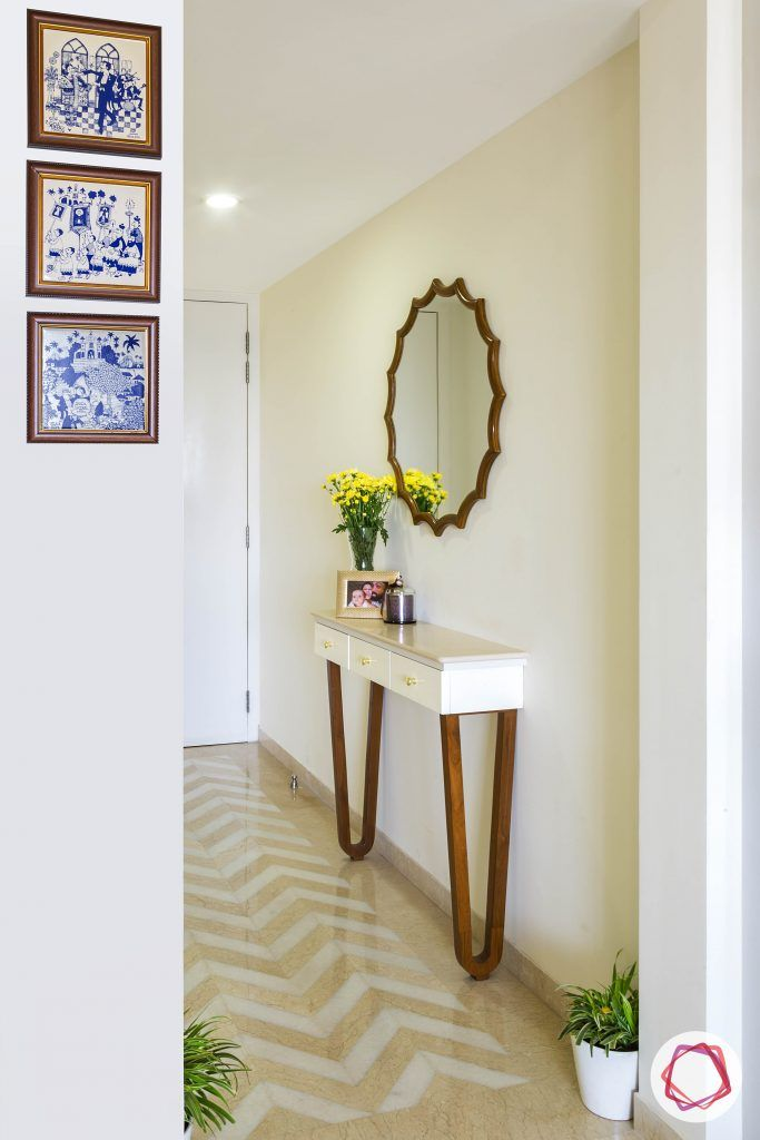 minimalism-minimal decor-foyer decor-console for foyer-minimal furniture