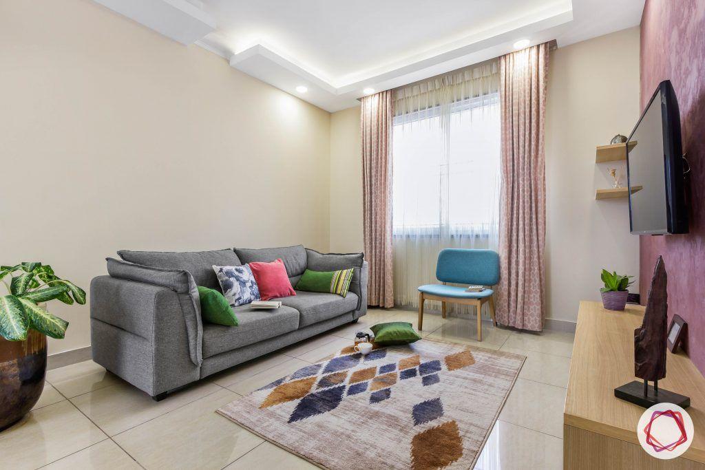 minimalism-minimal decor-rug designs-carpet designs-indian minimalist home-grey couch designs