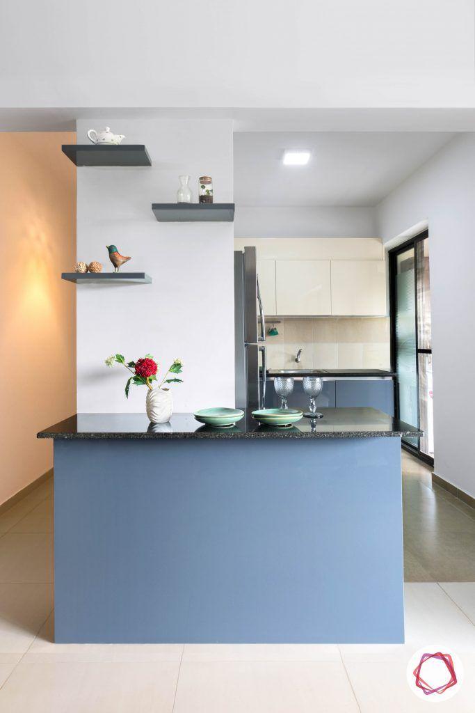 minimalism-minimal decor-breakfast counter designs-kitchen table designs-island counter designs