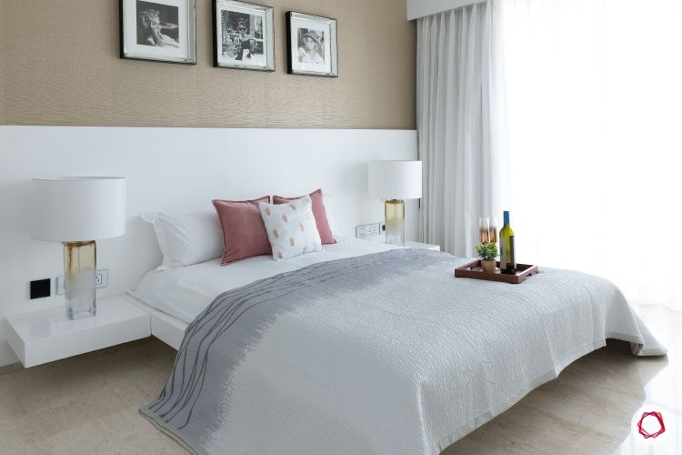 minimalism-minimal decor-white bedroom decor-floating bed designs-wooden floor designs