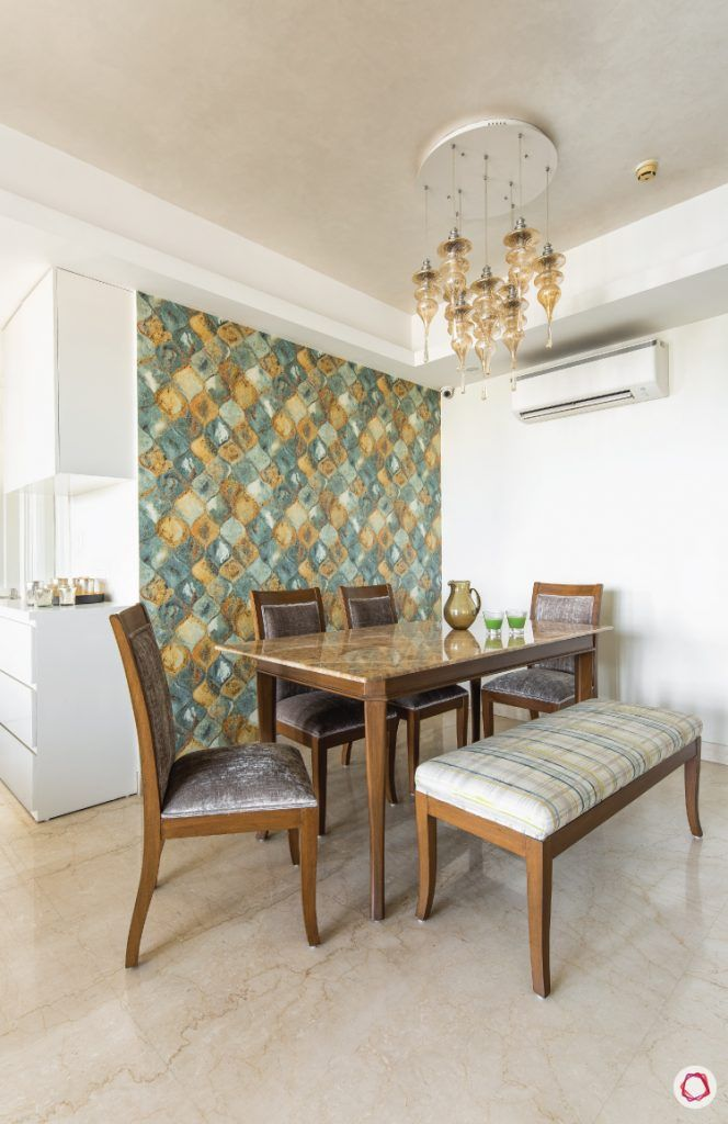 flat-in-faridabad-dining-room-modern-cosy-dining-chairs-bench-wallpaper-light