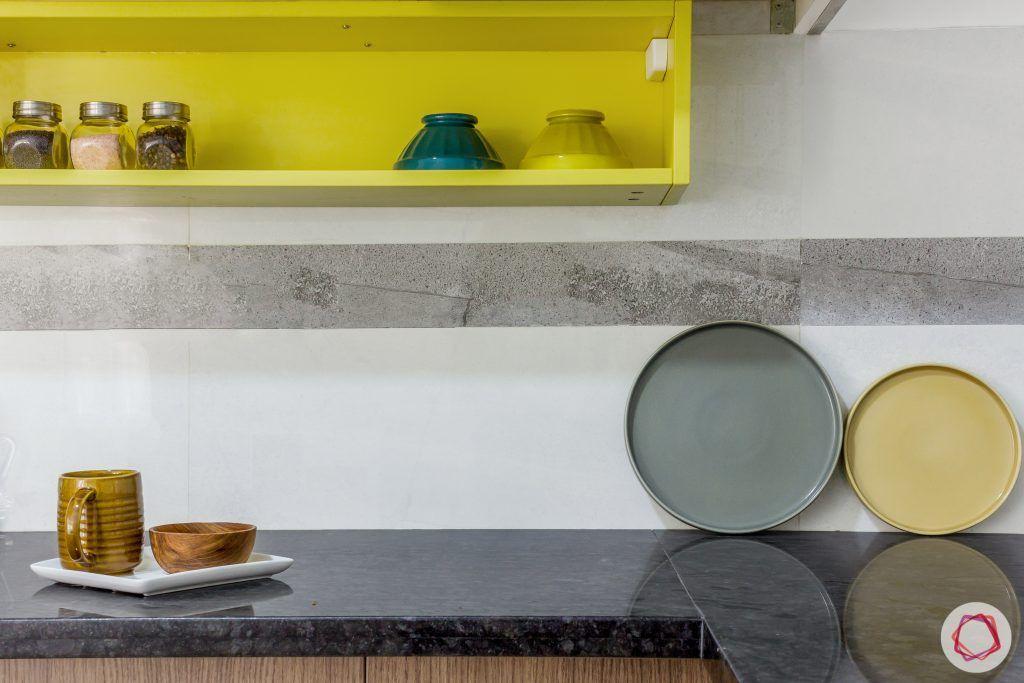 brigade northridge-budget kitchen design-kitchen backsplash design-black granite countertop design