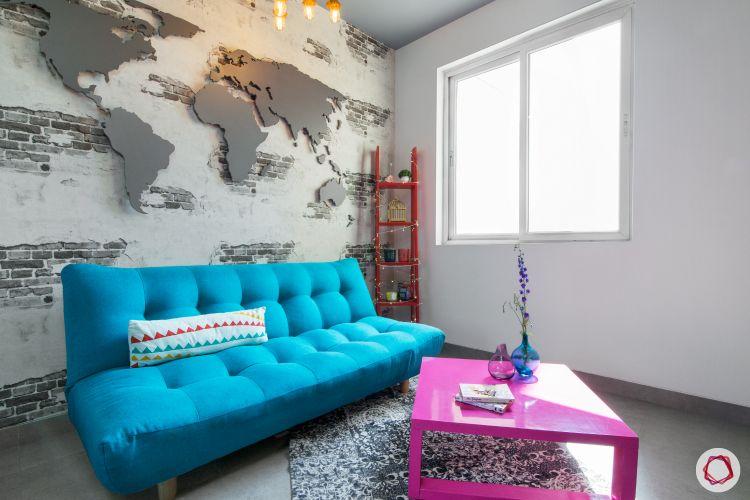 living-room-decor-ideas-display unit-ladder display unit-stylish display unit
