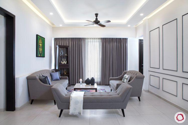false ceiling ideas-recessed lighting-recessed false ceiling lights-LED lights