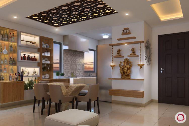 false ceiling ideas-lattice ceiling-jaali panel-jaali ceiling-patterned ceiling