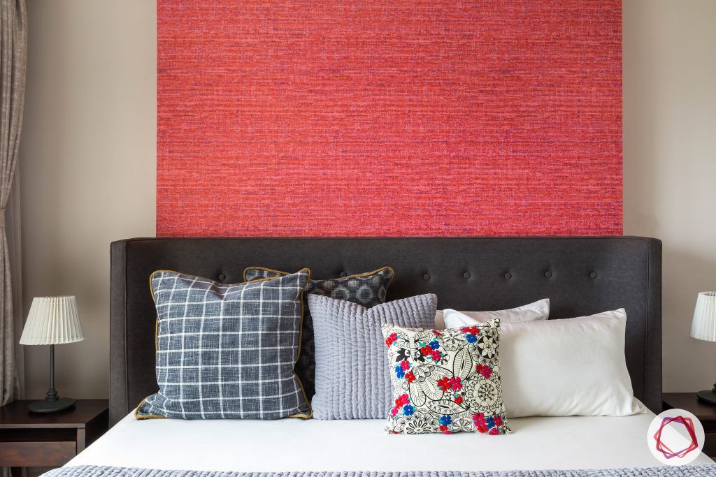 lodha group-red wall panel designs-grey headboard designs-headboard designs