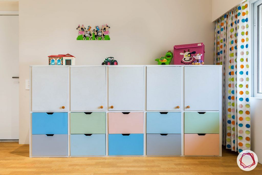 kids-room-toy-storage-cabinet-blue-pink-green-drawers