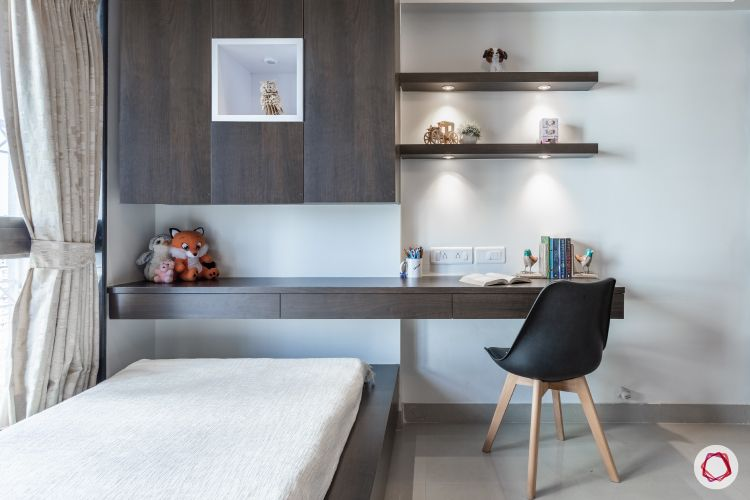 godrej homes-mumbai home-kids bedroom-kids study table-kids storage