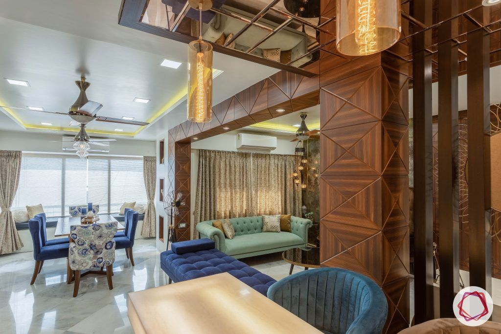 residential-interior-designers-in-mumbai-bar-dining-chairs-wooden-wall-table