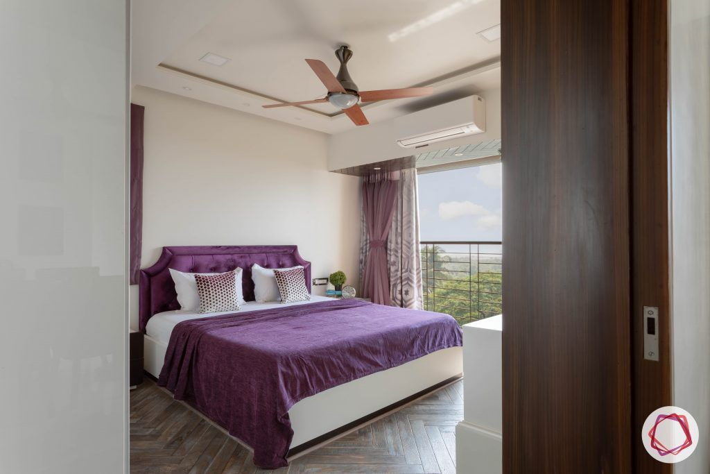 purple-bed-sheet-white-curtains